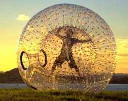 Adrenalin-Kick Zorbing